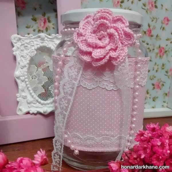 تزیین شیشه برای یخچال عروس