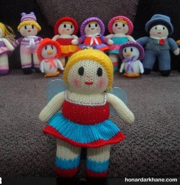 بافت عروسک دخترانه