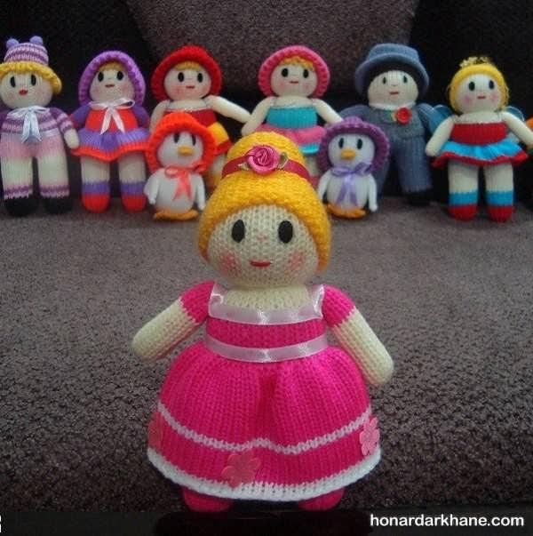 بافت عروسک دختر