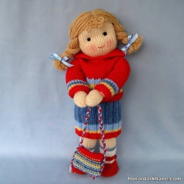 عروسک بافتنی سیندرلا