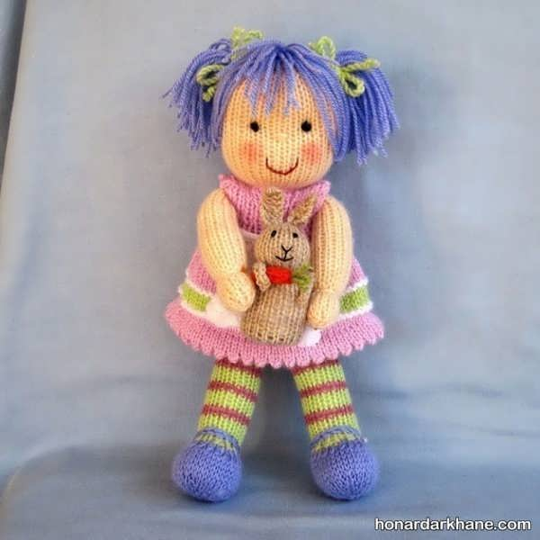 بافت عروسک سیندرلا با کاموا