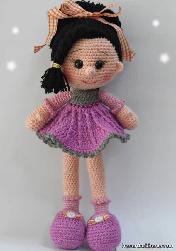مدل عروسک بافتنی پرنسس