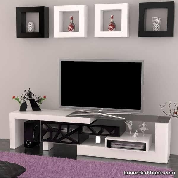 دکوری های جدید برای میز تلویزیون