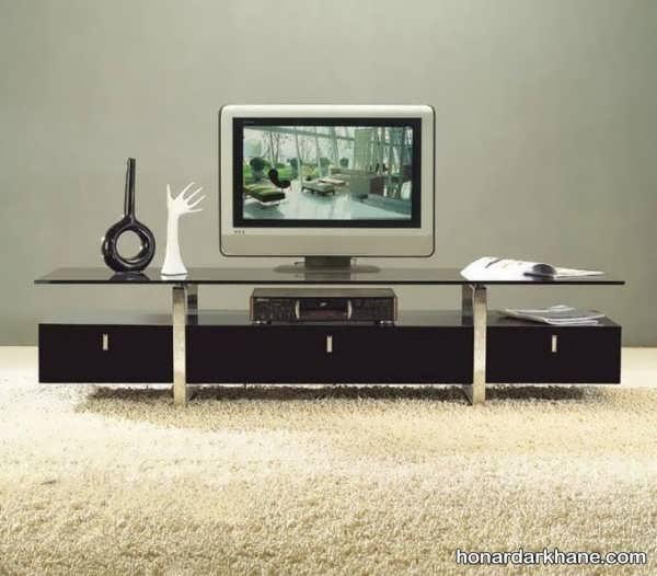 مدل دکوری تزیینی برای میز تلویزیون