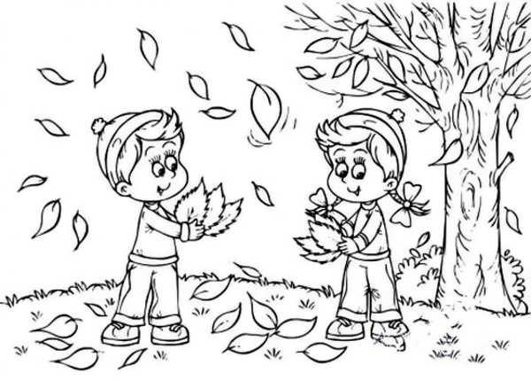 مدل نقاشی فصل پاییز