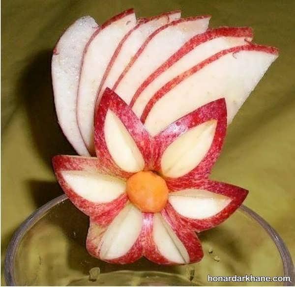 تزیین سیب با ایده های جدید