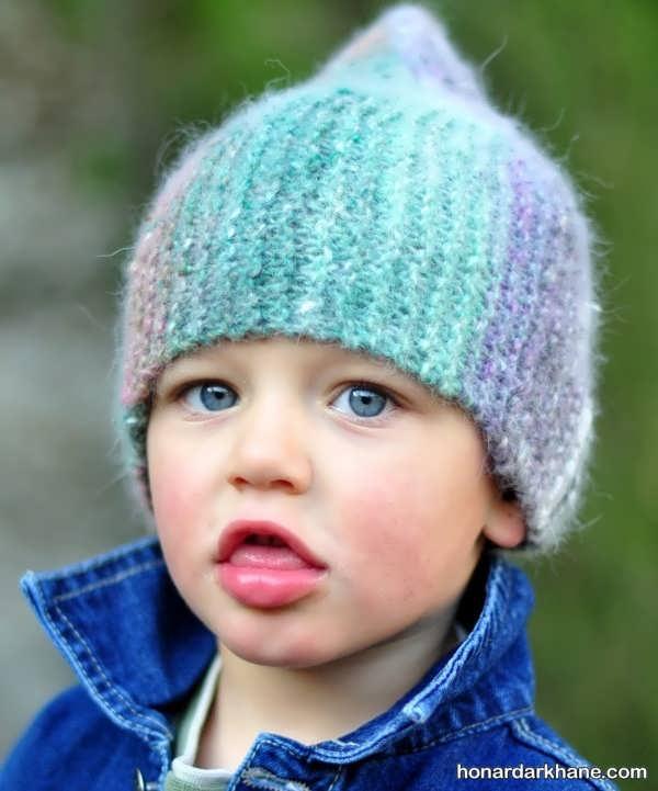 مدل کلاه دست بافت پسرانه