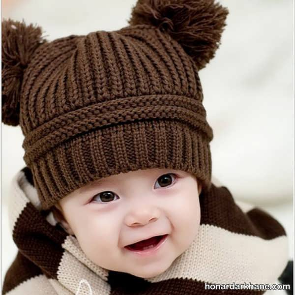 مدل کلاه بافتنی پسرانه جدید