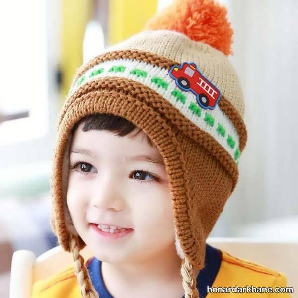 مدل کلاه بافتنی جدید