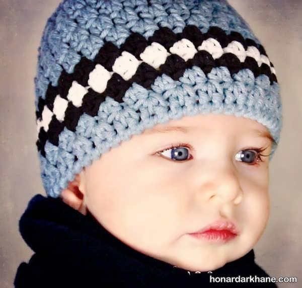 کلاه بافتنی جدید پسرانه