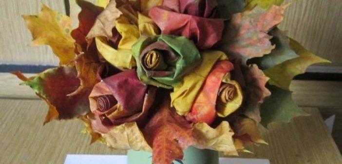 با برگ های پاییزی کاردستی های زیبا و وسایل دکوری شیک بسازید