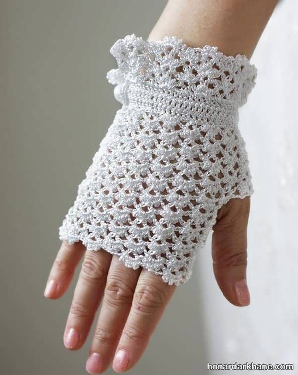 مدل مانتو می مدل های دستکش بافتنی بدون انگشت دخترانه و پسرانه جدید