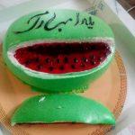 کیک شب یلدا عروس