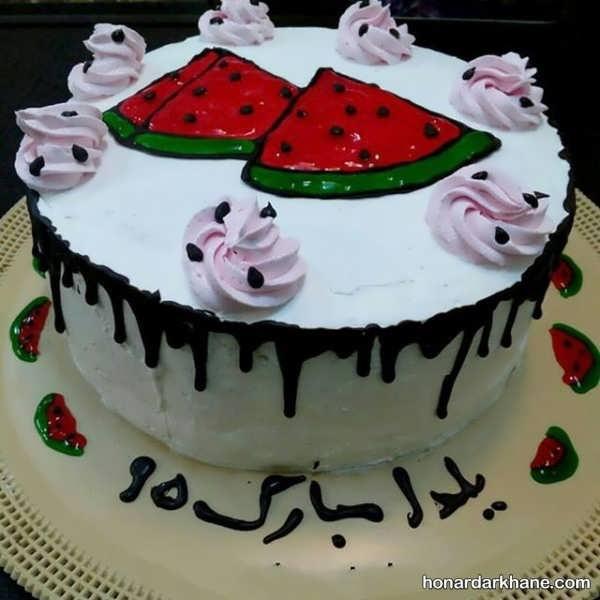 مدل کیک شب یلدای عروس