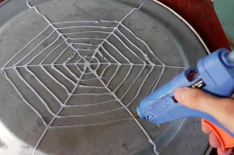 کاردستی با چوب بستنی و چسب حرارتی