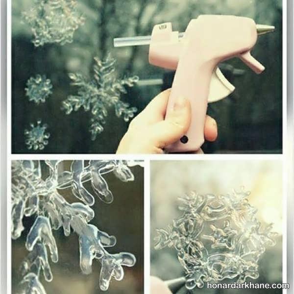خلاقیت با چسب حرارتی