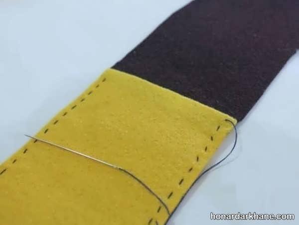 دوخت کیف موبایل