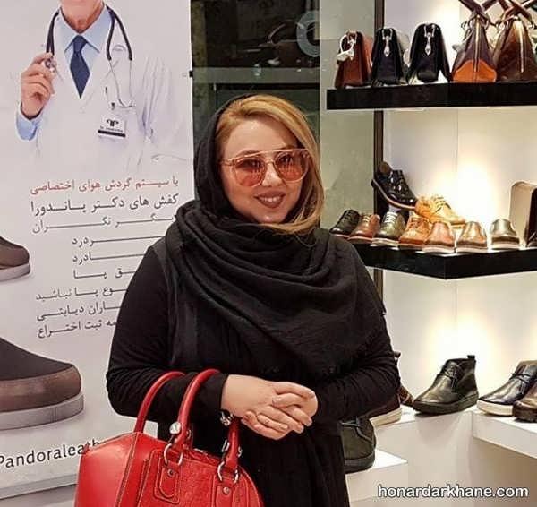 رنگ موی بازیگران ایرانی