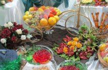 تزیین شب یلدا عروس