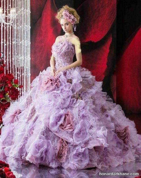 مدل لباس پرنسسی برای نامزدی
