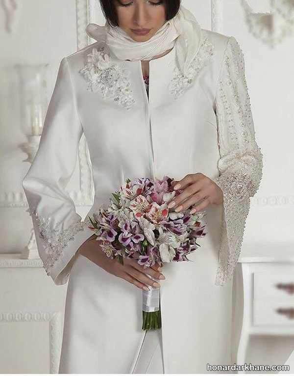 عکس مانتو عروس