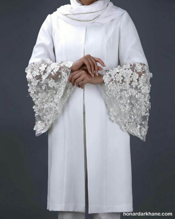 عکس مانتو مجلسی برای عروس