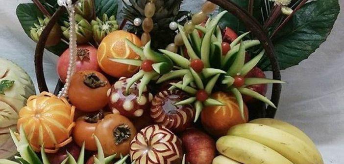 میوه آرایی شب یلدا عروس با جدیدترین و شیک ترین ایده ها