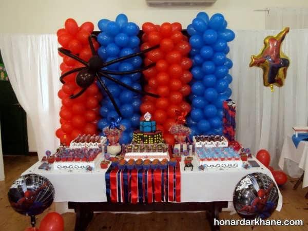 تم جشن تولد پسرانه بی نظیر و زیبا