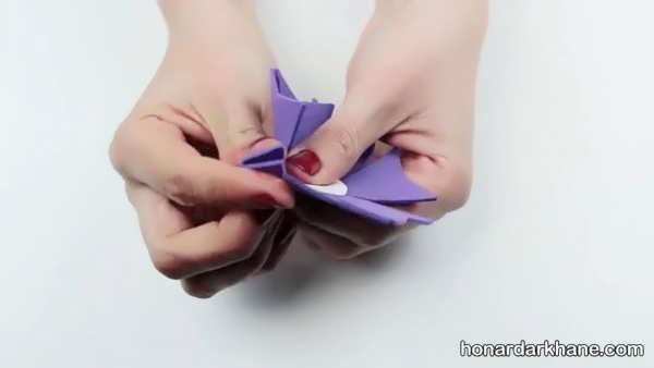 درست کردن گل با فوم