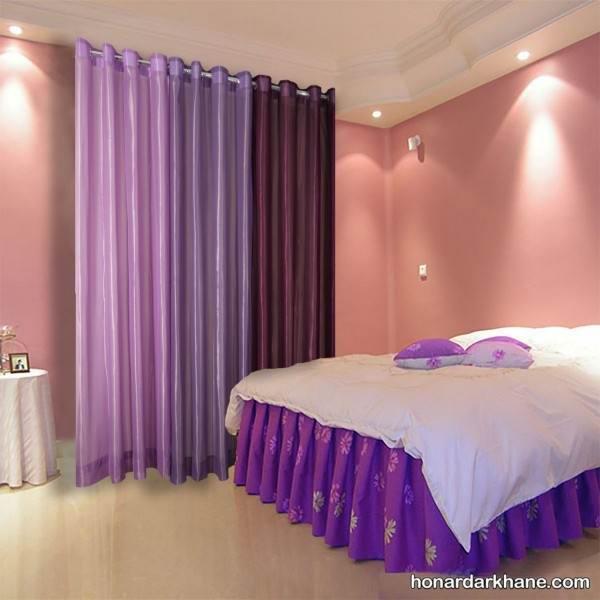 مدل پرده های ساده اتاق خواب