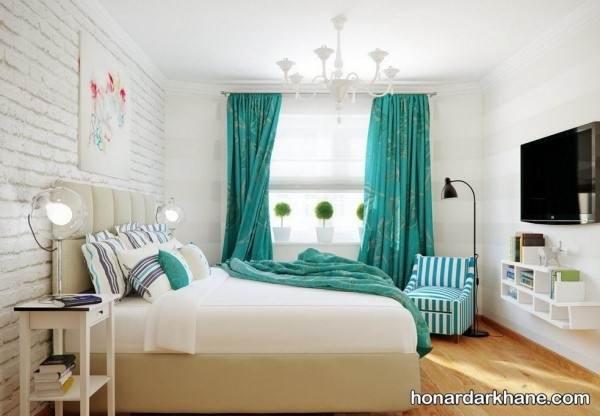 پرده اتاق خواب جدید