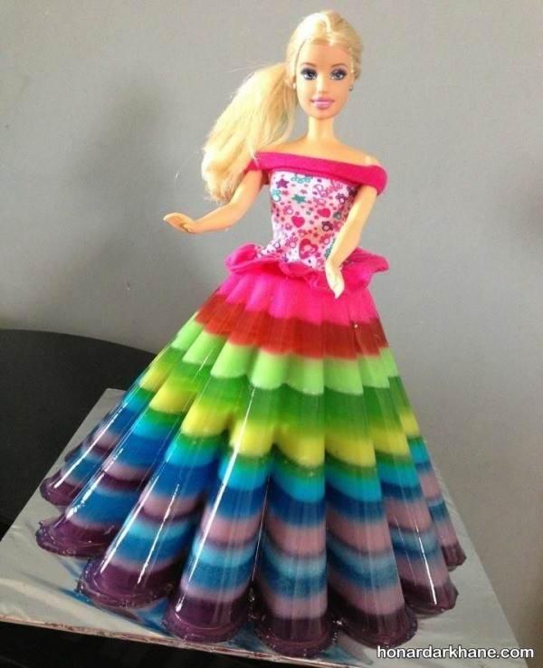 تزیین ژله عروسکی برای جشن تولد