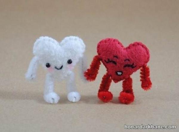 ساختن قلب عروسکی