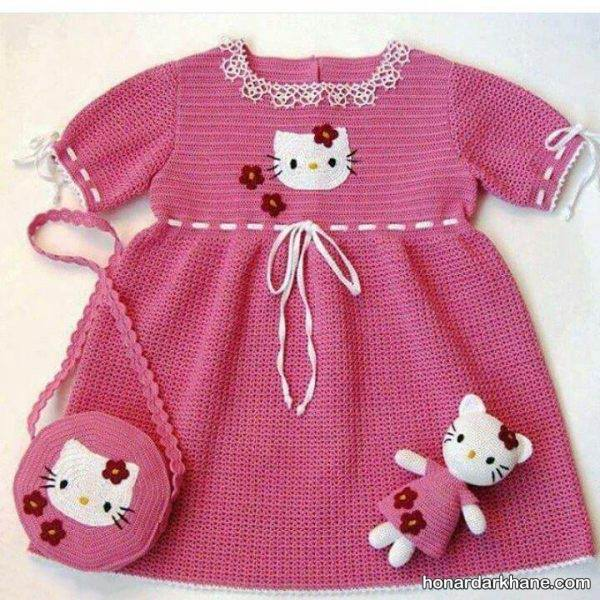 مدل لباس بافتنی برای کودکان