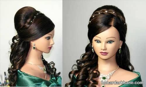 مدل موی زیبا و مجلسی فر