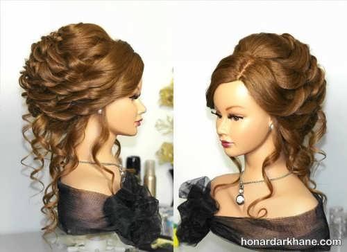 مدل موی فر باز شیک و جدید