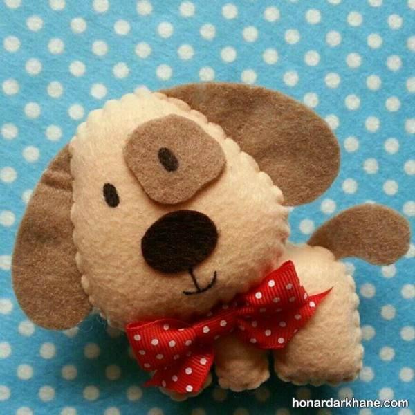 عروسک سگ فانتزی