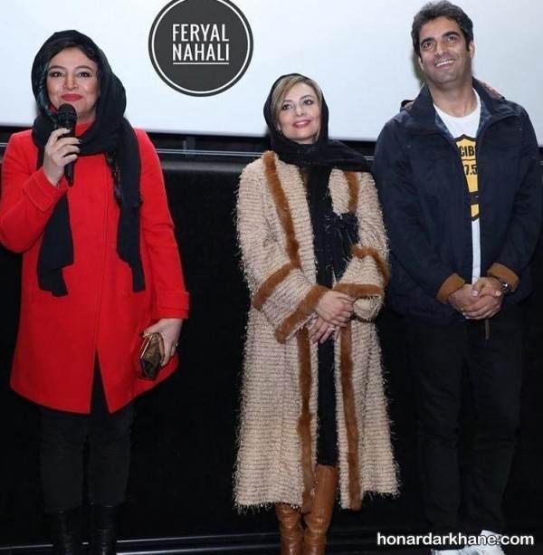 لباس زمستانی بازیگران زن