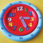 کاردستی ساعت