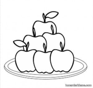نقاشی سیب هفت سین