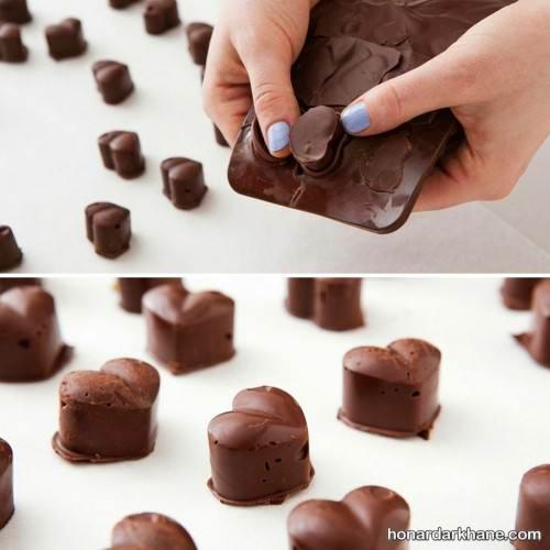 تهیه شکلات برای ولنتاین