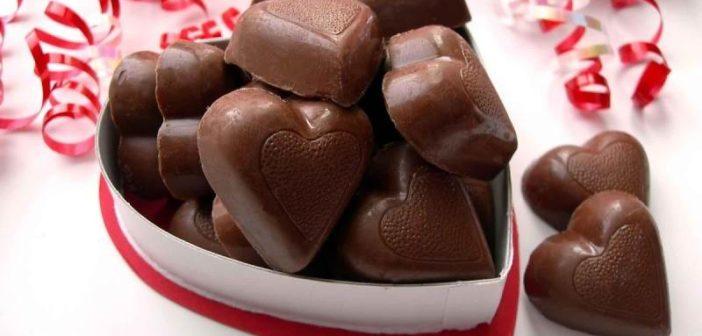 طرز تهیه شکلات ولنتاین