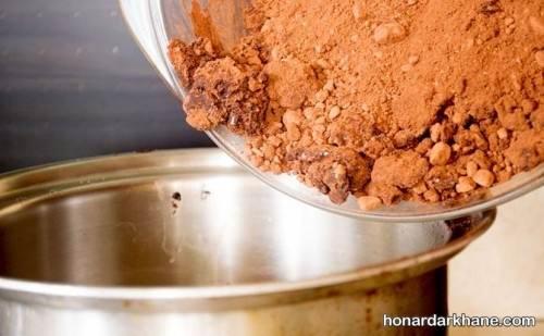 ترکیب کاکائو و شکر