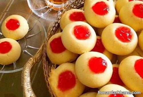 پخت شیرینی زعفرانی