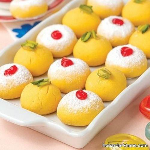 طرز تهیه شیرینی زعفرانی خانگی خوشمزه برای عید نوروز