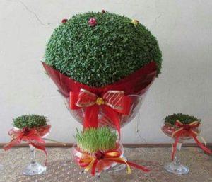 مدل سبزه عید نوروز