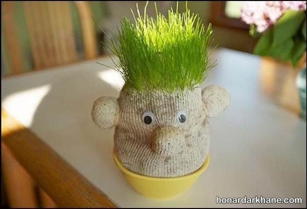 مدل سبزه عروسکی