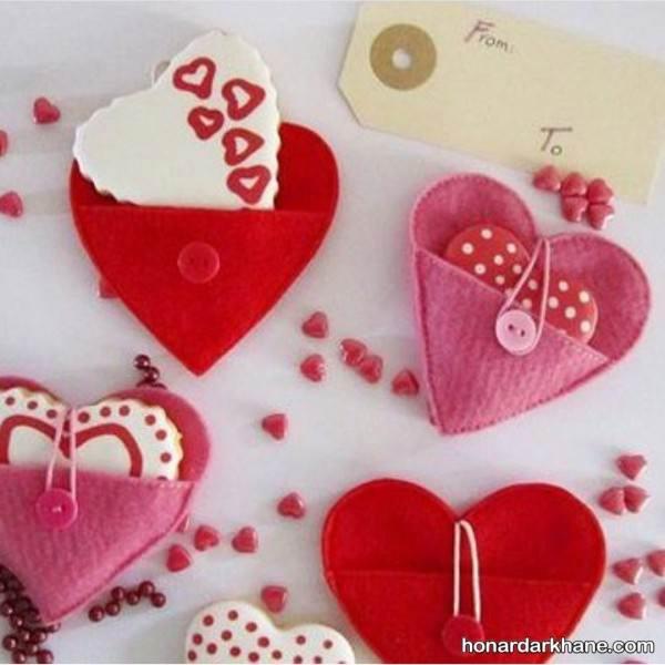 هدیه های عاشقانه و زیبا برای ولنتاین را با نمد بسازید