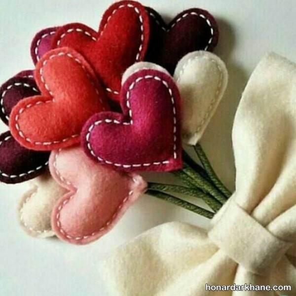 قلب های ولنتاین قرمز