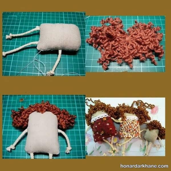 ساخت عروسک بانمک با گونی